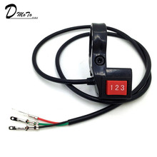 3-Speed-Module Switch Scooter Shift Motorcycle-Kit Bike Electric 22mm