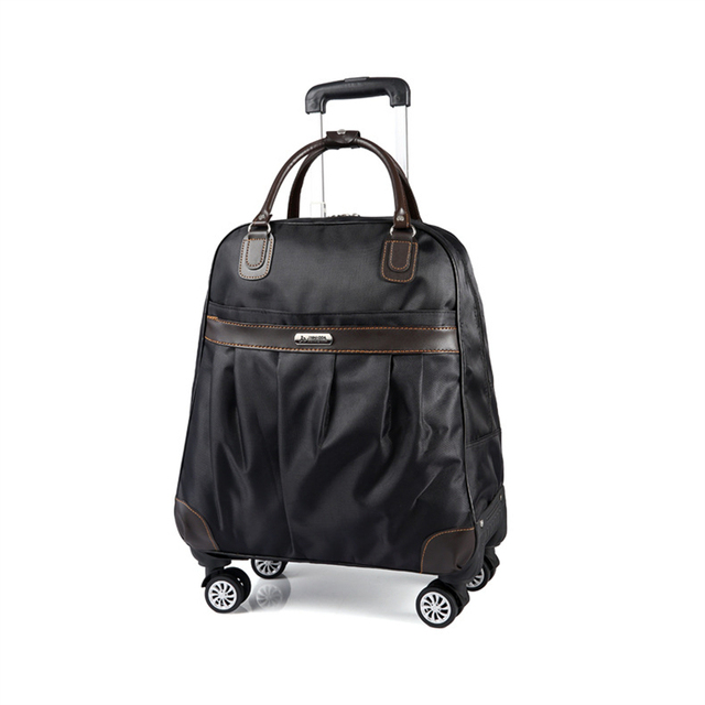 155345ea1817 Men s Universal Wheel Travel Bag Unisex Large Capacity Waterproof Trolley  Bag Boarding Box Travel Caster Trolley