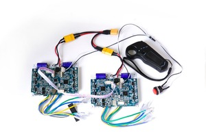 Image 5 - 24V 36V NEW Version 2.4G Transmitter 4WD Remote Controller Board Hub Motor Skateboard Motor Wheel Wheel Drive Control Board
