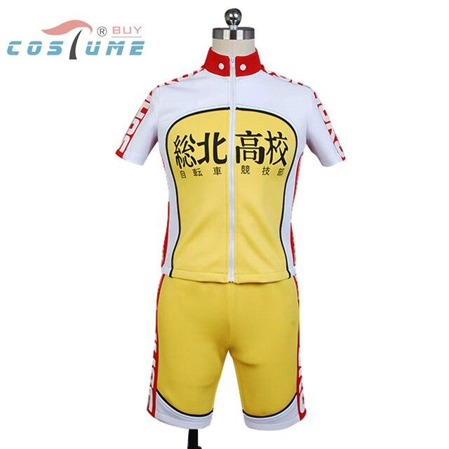 6378ea255 Yowamushi Pedal Cosplay Costume jersey Sohoku High School Bike Sporting  Racing Suits Short Sleeve Cycling Clothing