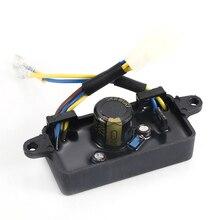 Автоматический регулятор напряжения Выпрямитель однофазный генератор AVR Запчасти для 2KW-3KW китайский бензиновый генератор практичный