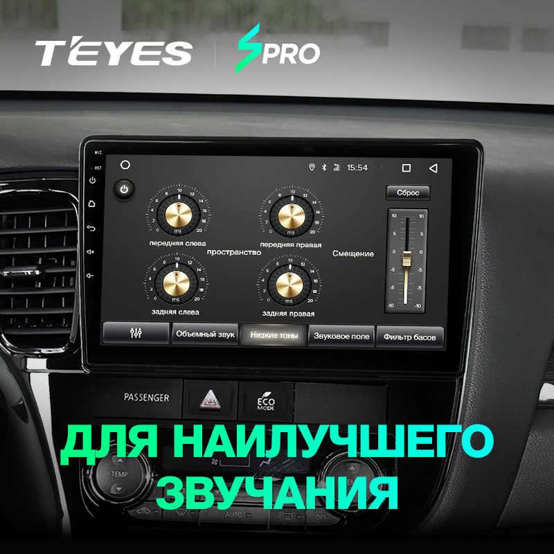 TEYES SPRO アンドロイドカー dvd gps マルチメディアプレーヤー三菱アウトランダー xl 3 カー dvd ナビゲーションラジオビデオオーディオプレーヤー