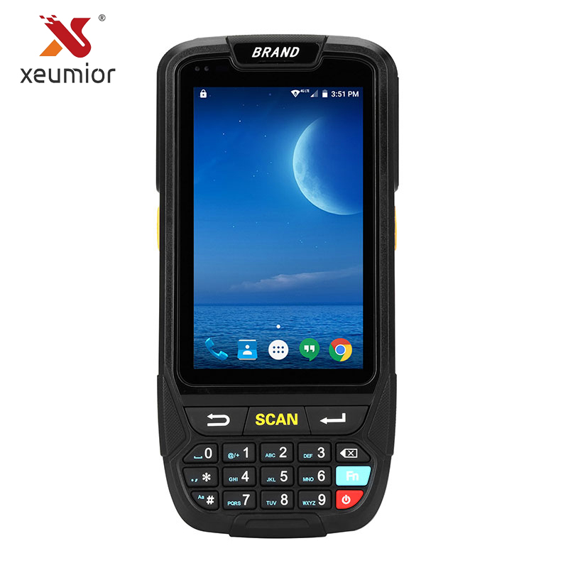 Android Portable Data Collector PDA Terminal With 1D/2D Laser Barcode Scanner Reader For Inventory Management Warehouse System jp d2 wireless data inventory collector 1d barcode scanner terminal wireless barcode scanner laser reader