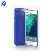 Разблокированный Google Pixel 5,0 ''дюймовый четырехъядерный процессор с одной sim-картой 4G LTE Android мобильный телефон 4 Гб RAM 32 Гб 128 ГБ ROM смартфон
