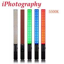 Yongnuo yn360 led vidéo lumière 5500 k rgb bâton professionnel photographie led bluetooth 4.0 app contrôle