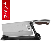 4Cr13Mov stainless steel kitchen knife,you can cut the bones/meat/slice/cut fish/cut vegetables/cut fruit,very sharp durable