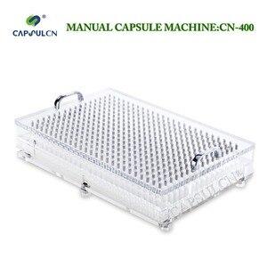 Image 1 - CN 400 000# 5#  manual capsule filler capusle filling machine encapsulation with 400 holes