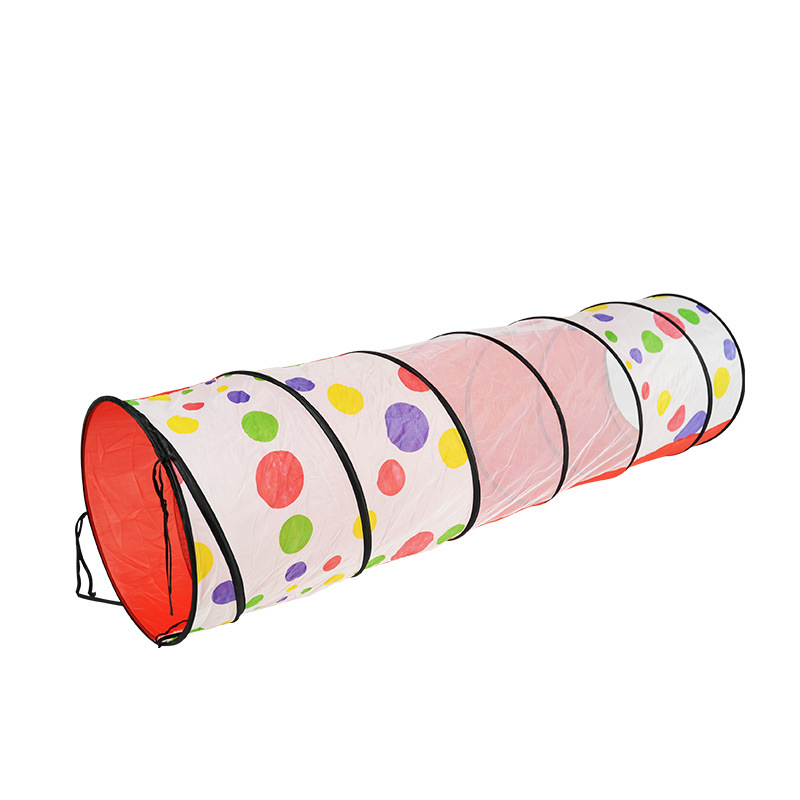 Free Shipping 1 8m Dots Play Tunnel Pop Up Educational Toy