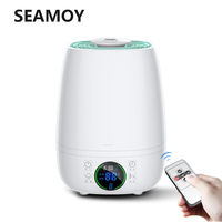 Seamoy Air Humidifier for Home Essential Oil Diffuser 4.5L Remote Control Aroma Diffuser Aromatherapy Cool Mist Maker For Home