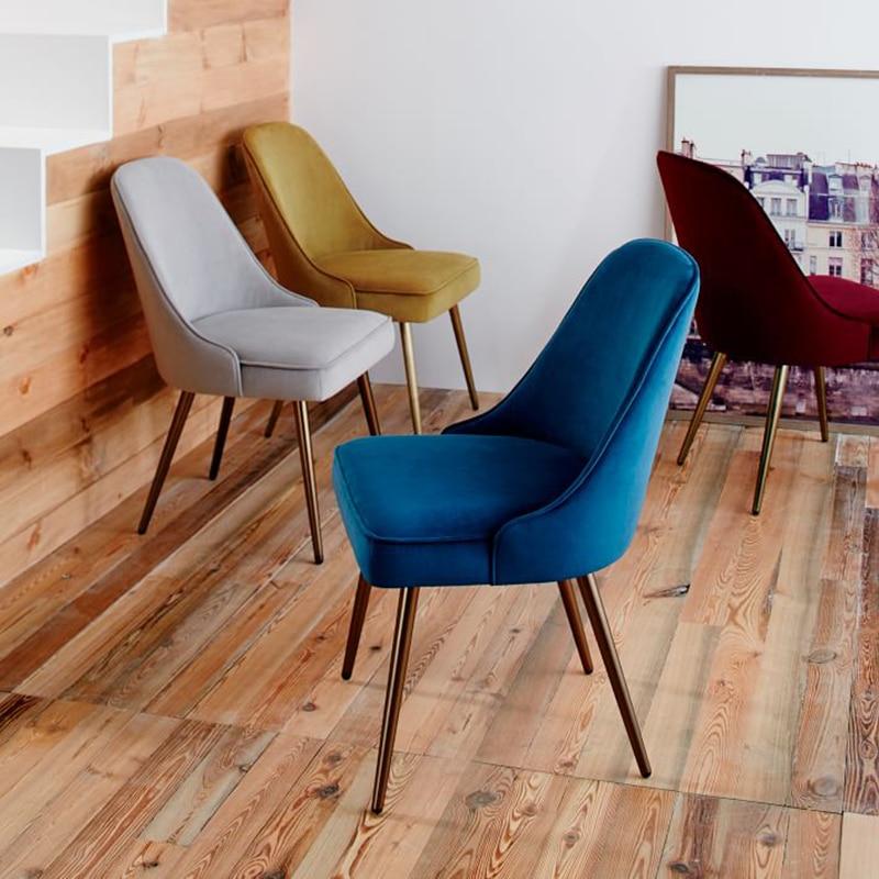 Style nordique dinant la chaise moderne minimaliste personnalité chaise café chaise loisirs chaise