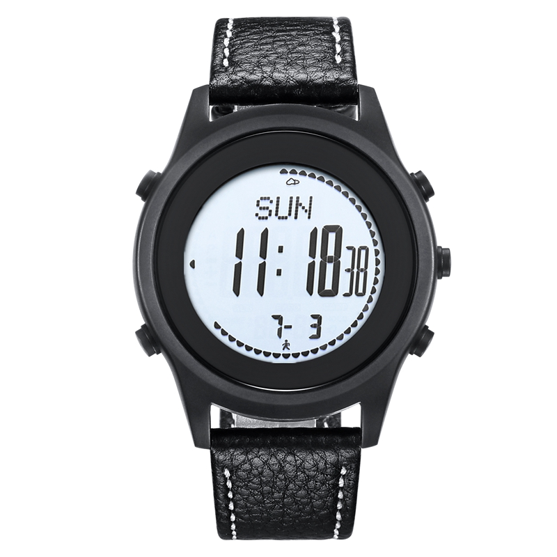 цена на SPOVAN Beyond Carbon Fiber Sport Watches Ultra Thin Silica gel Watchband Black