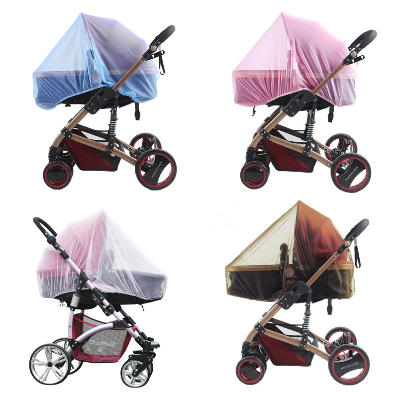 Jg91 Baby Stroller Pushchair Mosquito Insect Net Safe Mesh Buggy Crib Netting Cart Mosquito Net Pushchair Full Cover Netting