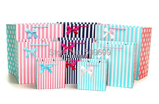 Moda caja de dulces de la boda/bolsas de regalo Del Festival, navidad bolsa de P