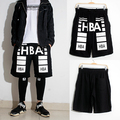 2016 Summer Fashion shorts Men's Clothing Pyrex HBA  Mens  Shorts Hip Hop cargo bermuda masculina  Cotton casual
