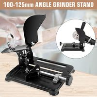 Polisher Stand Angle Grinder Stand Aluminum bracket lightweight support Holder for 100 115 125mm angle grinder cutting