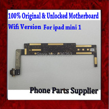 Original Unlocked Wifi Version For ipad mini 1 Mainboard,100% Good Working For ipad mini 1 Motherboard with Chips Free Shipping
