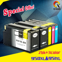 5PK For HP 950 951 XL For HP 950XL 951XL Compatible Ink Cartridge For HP Officejet