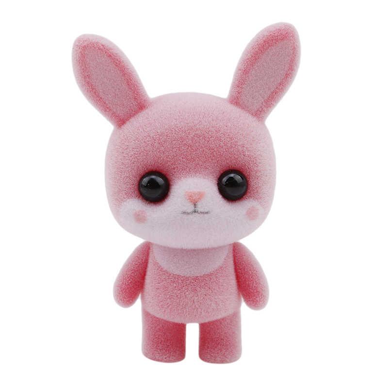 Kawaii 7 цветов милый пингвин утка кролик панда плюшевая мягкая игрушка брелок для ключей, Подарочный Свадебный праздник Короткие Плюшевые игрушки куклы