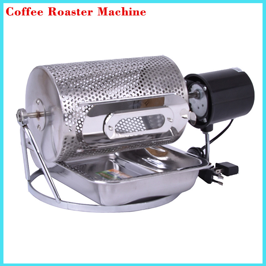 где купить Electric Stainless Steel Glass Window Coffee Roaster Machine Roasting Baking Tool used in gas stove or electric stove 220v/110v по лучшей цене