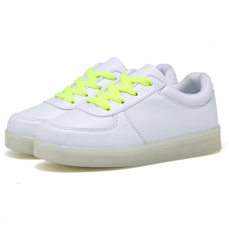 New Fashion Children USB Charging LED Light Shoes Kids Sneakers Fashion Luminous Lighted Boy Girl Shoes chaussure LED enfant. djsunnymix 2018 kids sneakers fashion usb charging lighted colorful led lights children shoes casual flat girls boy shoes gold