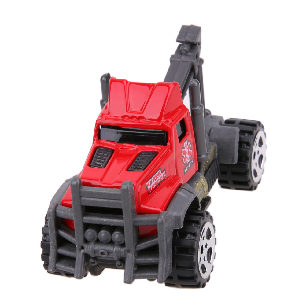 2017 Newest 5pcs/Set 1:64 Scale Ambulance Alloy Car Model Set Kids Children Educational Sliding Car Toy Christmas Gift For Boys