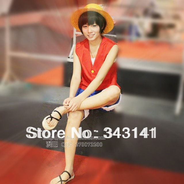 ONE PIECE Monkey D. Luffy the first generation costumes anime cosplay Halloween costume