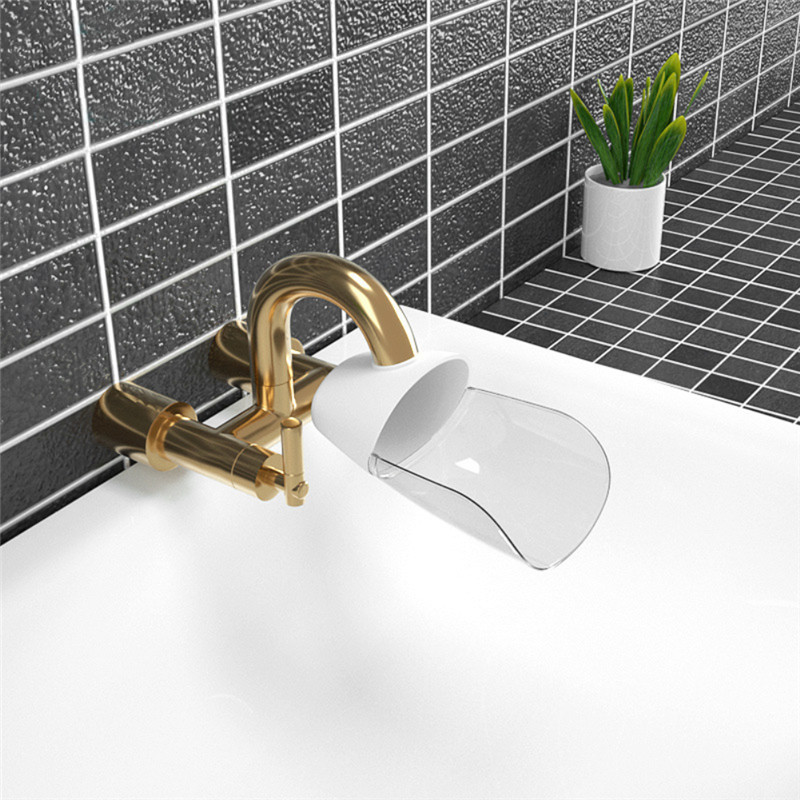 Bathroom Faucet Extender Fashion Baby hand-washing device Children's Guide sink Faucet extension Bathroom Accessories