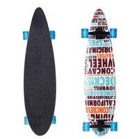 Nieuwe Skateboard Hout 40 inch Print Scooter LED Knippert Skateboard Kids Volwassen Longboards Matte board