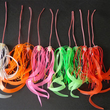 Silicone Skirt Assist-Hook Replacement Trailer-Lure Twin-Hook-Slider Octopus Mimicking-Set