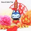 ZHUAIMAO Ornamentos Del Coche Del Coche Colgante colgantes del coche Accesorios del Coche Del Estilo Chino Zhuaimeow contigo todo el camino contrapartes