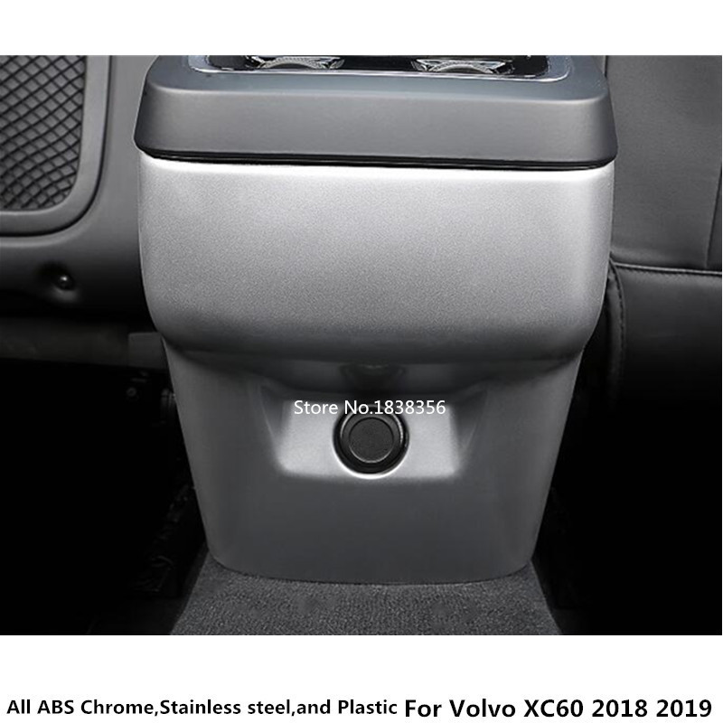 Volvo XC60 2018 2019 ABS Chrome iekšējais aizsargājošs vāciņš - Auto salona piederumi