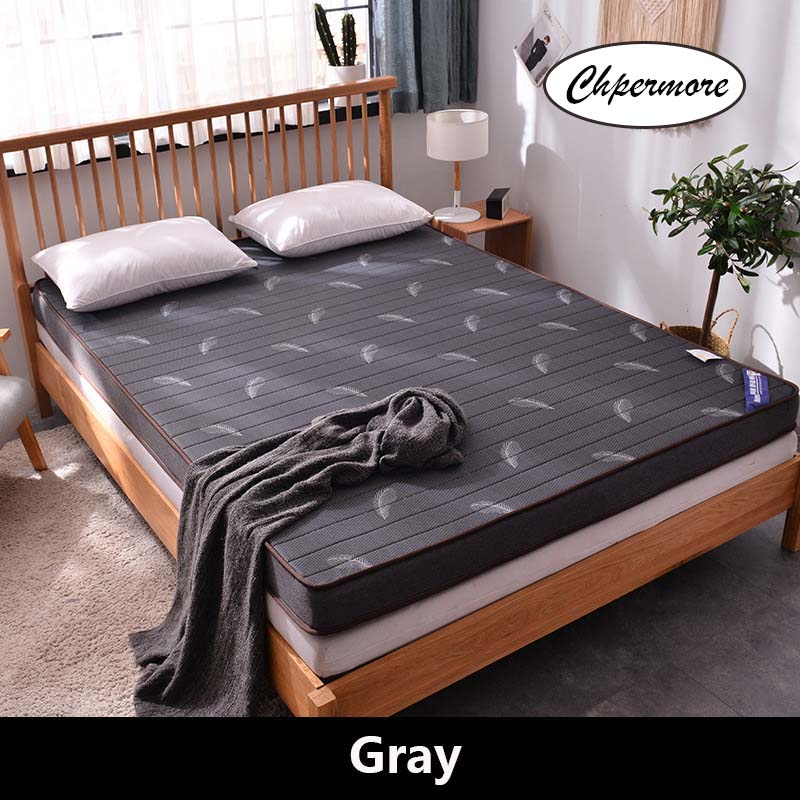 Chpermore High Quality Natural Latex Memory Foam Mattress Foldable Slow Rebound Mattresses Thicken Tatami King Queen Size