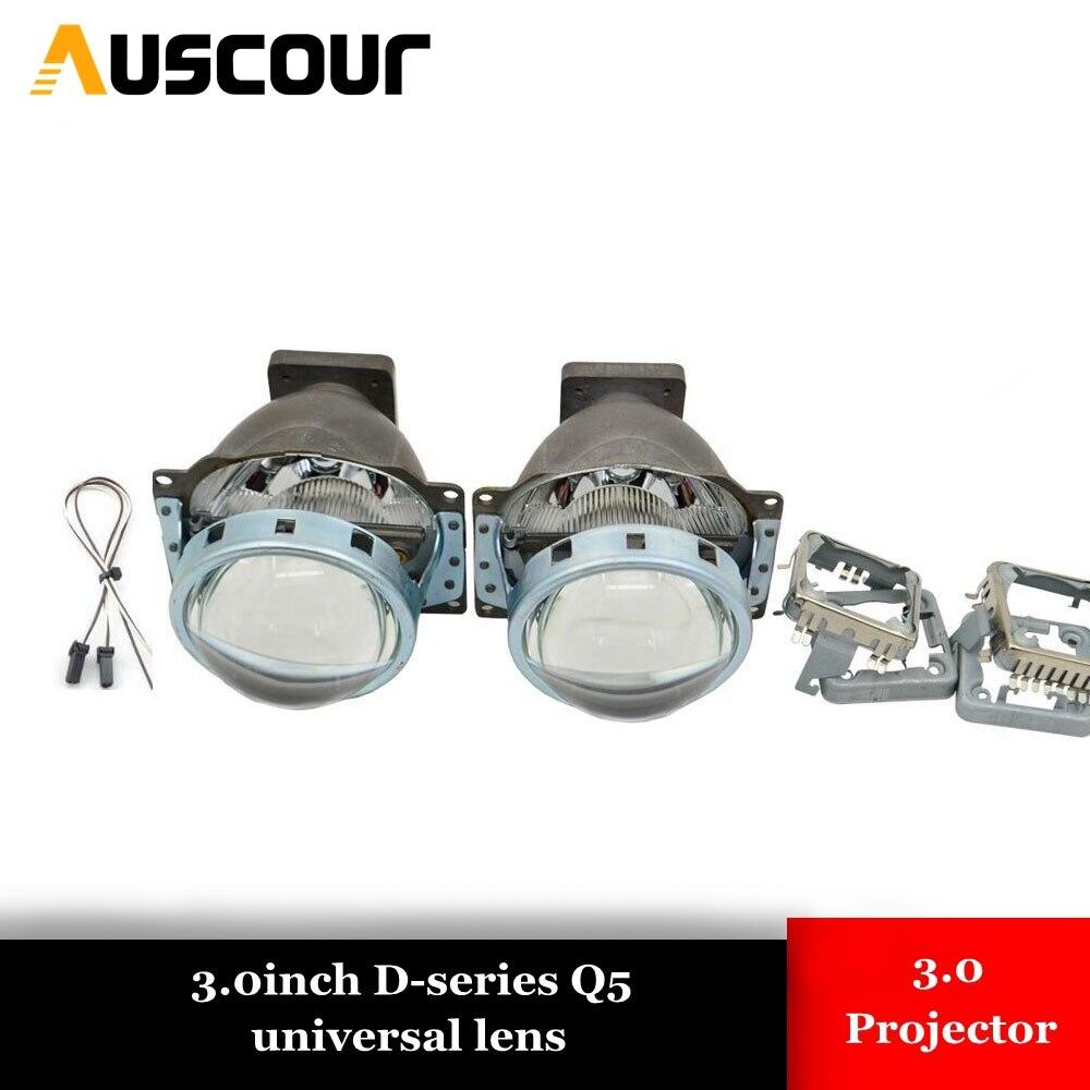 3.0 pouces Bi xénon projecteur lentille LHD pour phare de voiture 3.0 Koito Q5 35 W peut utiliser avec D1S D2S D2H D3S D4S Super lumineux kit xénon