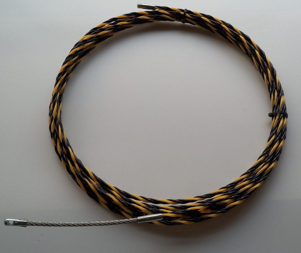 4.5mm 30M nylon Cable puller,fish tape,duct rodder,snake rod,push ...