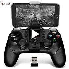Ipega 9076 PG 9076 Bluetooth Gamepad משחק Pad Controller נייד הדק ג ויסטיק עבור אנדרואיד סלולרי חכם טלפון טלוויזיה תיבת מחשב PS3 VR