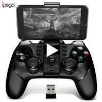 Ipega 9076 PG-9076 mando de juegos Bluetooth mando de juegos mando de gatillo móvil Joystick para teléfono inteligente celular Android TV Box PC PS3 VR