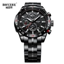 BOYZHE 2019 Luxury Brand Watch Men Automatic Mechanical Mens
