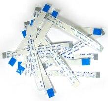 5w 전원 리셋 스위치 리본 케이블 PS2 50000 전원 켜기/끄기 스위치 플랫 케이블 수리 부품 5 개/몫