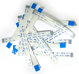 Image 1 - 5w Power Reset Switch Ribbon Cable For PS2 50000 Power On/off Switch Flat Cable Repair Part 5pcs/lot