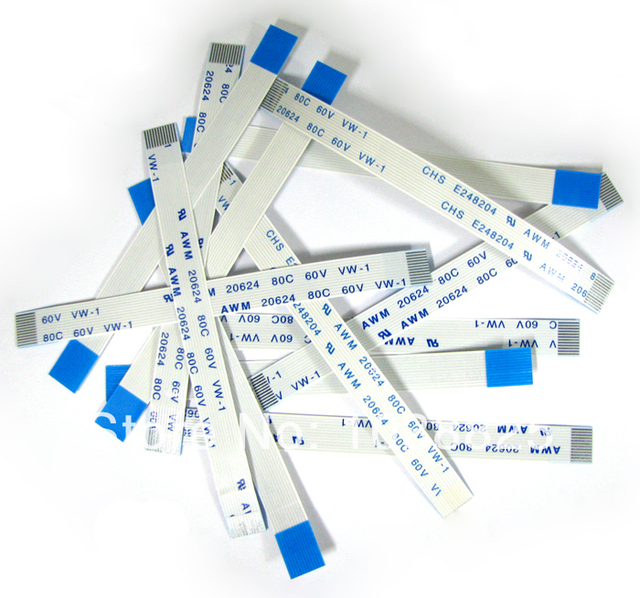 5w Power Reset Switch Ribbon Cable For PS2 50000 Power On/off Switch Flat Cable Repair Part 5pcs/lot