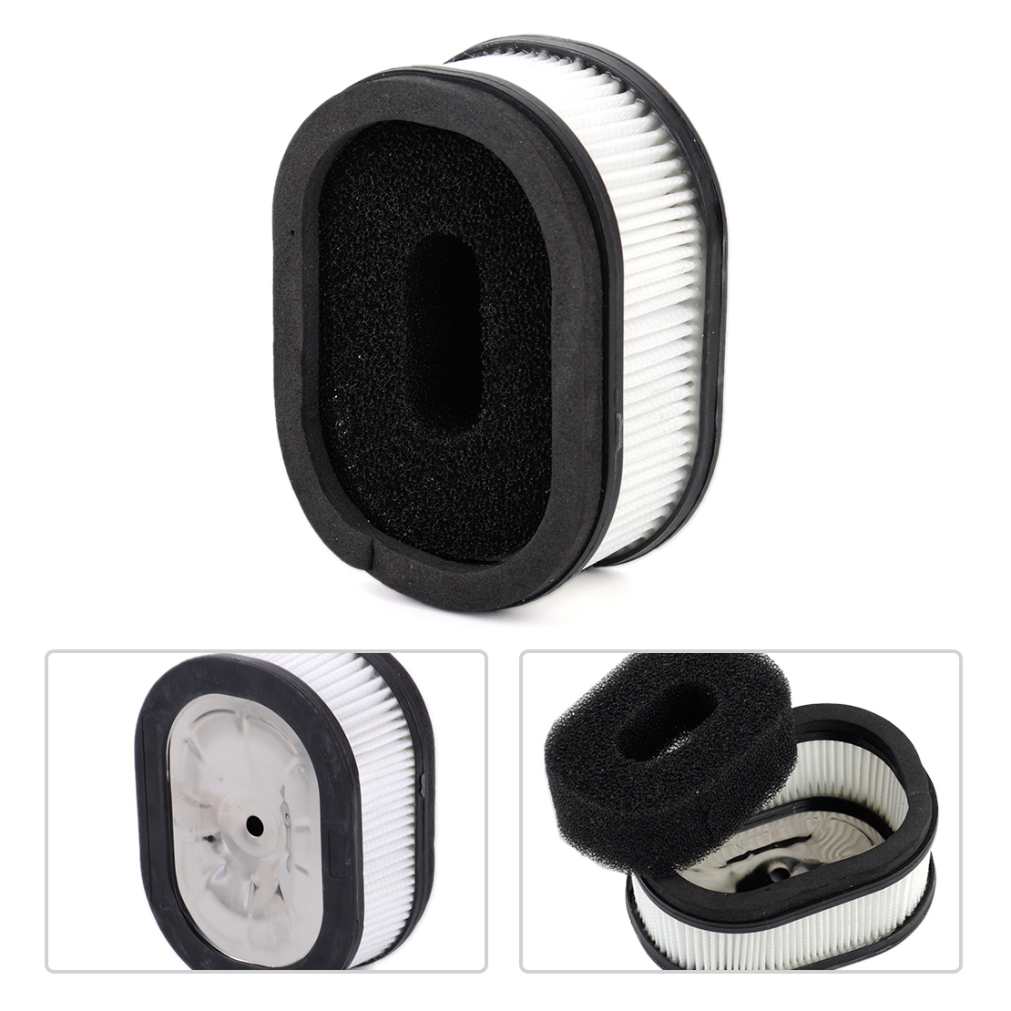 LETAOSK Air Filter with Sponge Fit for Stihl 066 065 <font><b>MS660</b></font> MS650 Chainsaw Replacement 0000 120 1653 image