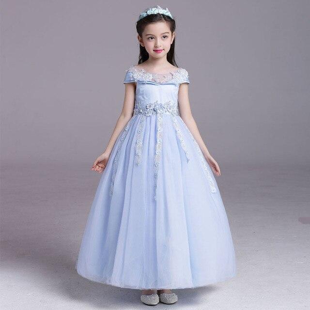 2017 Musim Panas Gadis Gaun Pesta Anak Anak Pakaian Putri Gaun Bayi