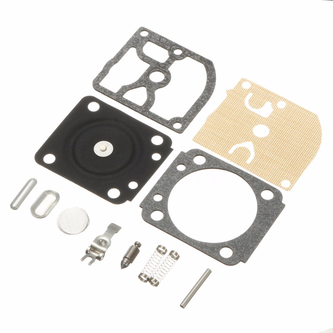 Durable Carb Carburetor Repair Rebuild Kit Chainsaw Carburetors Gasket Repair Kits Fit For RB77 018 MS180 017 MS170 Mayitr carburetor carb rebuild repair kit gasket diaphragm for husqv arna chainsaw 235 236 jonsered cs2234 cs 2238 zama carb kit rb 149 page 2