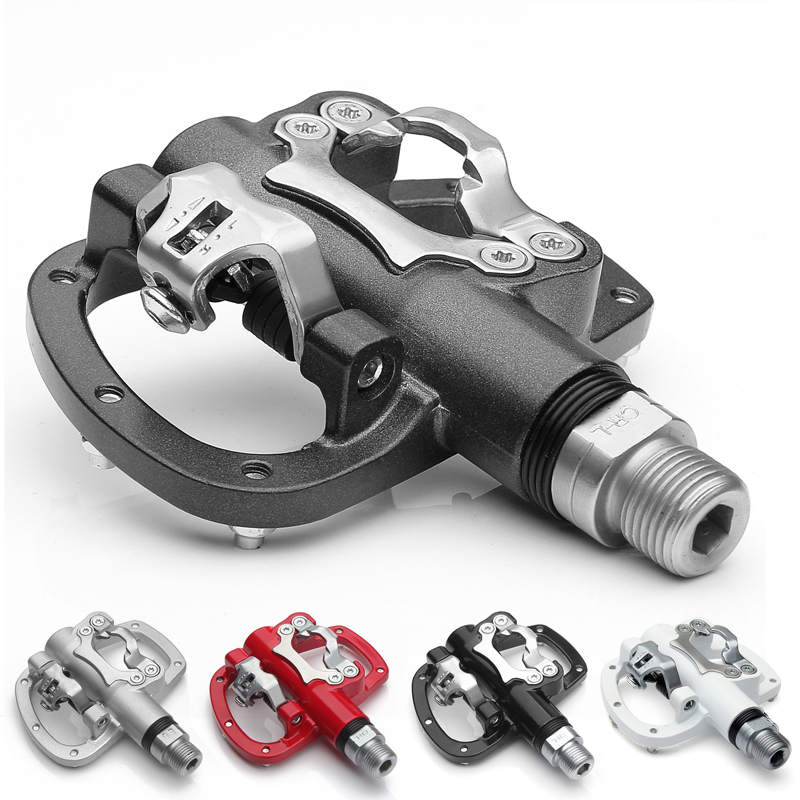 Wellgo R120B MTB Mountain road Bike Clipless Pedals With Cleats SPD Compatible Bicycle Aluminum alloy self-locking pedal gub m101 bicycle pedals mtb mountain road bearing pedals chrome molybdenum steel bicycle parts self locking aluminum alloy pedal