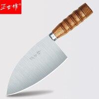 Miễn phí Vận Chuyển ZSZ Bếp Chuyên Nghiệp Butcher Dao Cắt Thịt Cleaver Giết Mổ Mổ Bụng Gia Súc Bị Giết Dao Boning Dao