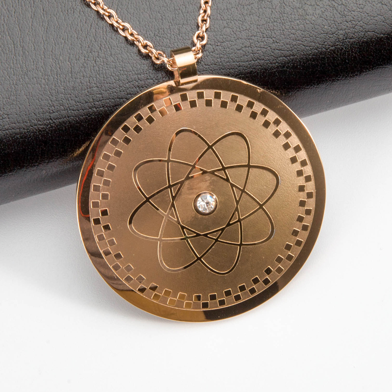 necklaces pendant colorful shipping negative scalar steel from in quantum stainless ion science item free bio energy necklace crystal