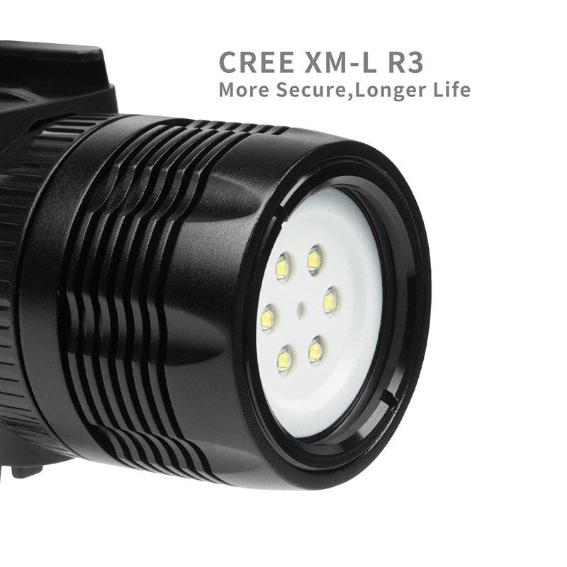 LED Diving Light 60m Waterproof Dimmable Underwater Fill Lights for Gopro Hero 6/5/5S/4/4S/3+ SGA998LED Diving Light 60m Waterproof Dimmable Underwater Fill Lights for Gopro Hero 6/5/5S/4/4S/3+ SGA998