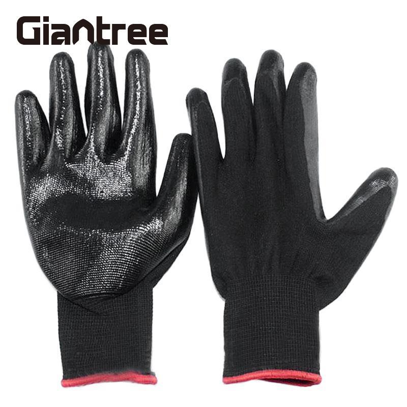 Giantree Gardening Gloves Auto Gumming Warehouse Anti-Slip Safety Hot Sale Outdoor Housework Work Protection Gloves