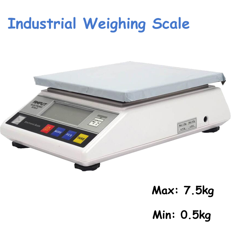 2pcs/lot 7.5kg x 0.1g Digital Precision Industrial Weighing Scale Balance Counter Table Scale Electronic Laboratory Balance 457A 10kg x 0 1g digital precision electronic laboratory balance industrial weighing scale balance w counting