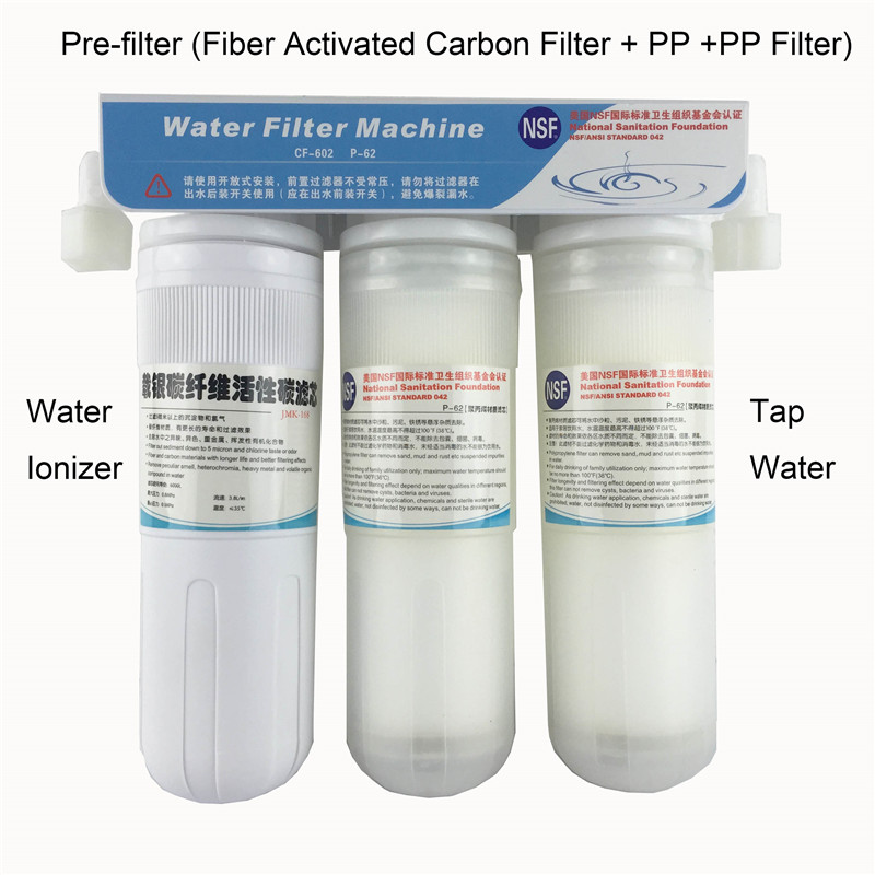 Pre-filter for water ionizer machines filter can remove sand, mud and rust 9000L water цена